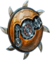 Shield upgraded clockwork