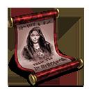 Rohesia scroll red