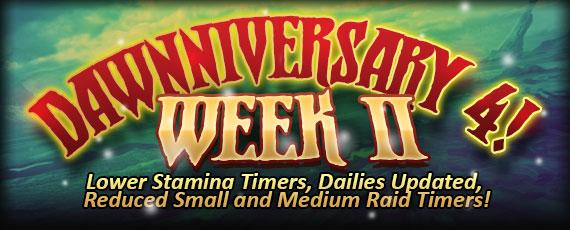 Scroller anniversary week 2