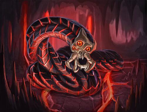 Magma worm1