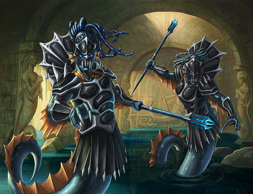 Masters of the abyss