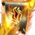 Flamedart scroll