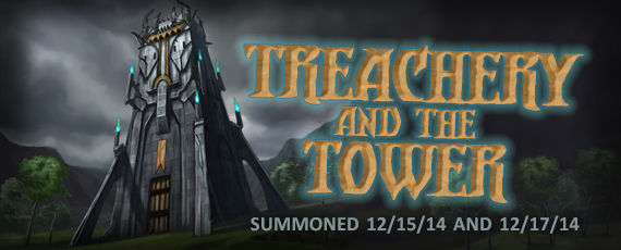 Scroller dotd summons treachery tower