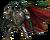 Chest dragon rider