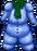 Preserved snowman chest