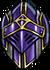 Vibrant besiegers helm