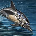 Mount amiable dolphin