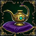 Relic arch djinns lamp