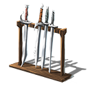 Rack of swords