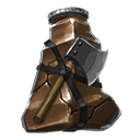Infused elixir of savagery consumable 1 brown