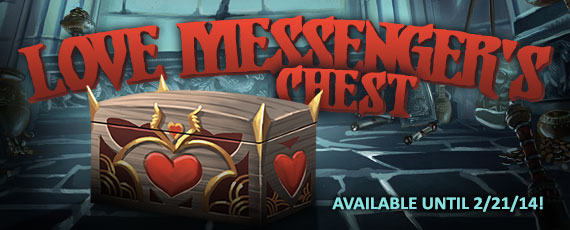 Scroller love messengers chest