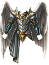 Chest angelic knight