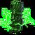 Lightning totem green