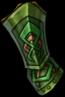 Gloves green knight