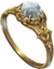 Ring tymiras wedding band