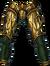 Pants golden dragon rider