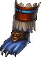 Boots blue jaguar warrior f