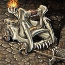 Mount burning bone bambarder