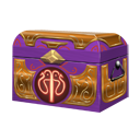 Dawn chest purple orange