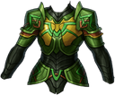 Chest green knight