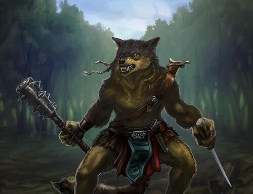 Wolf-man deserter raid