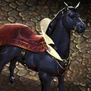 Fanged stallion