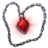 Neck blood diamond