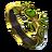 Scarab guard ring