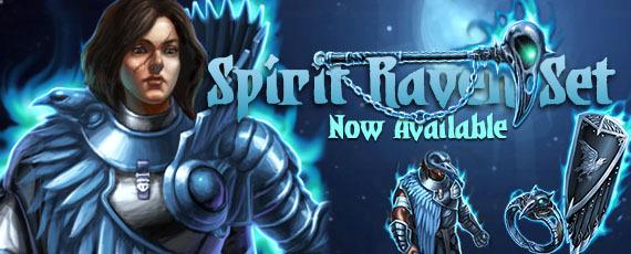 Dweb spirit raven