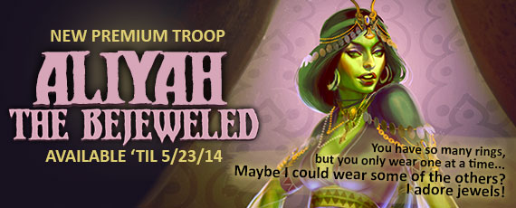 Scroller aliyah the bejeweled 2