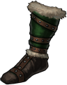 Boots black hand