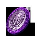 Collection celestial dawn coin 5 purple