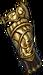 Gloves golden dragon rider