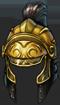 Helm yellow knight