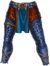 Pants blue jaguar warrior