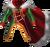 Chest festive vampire