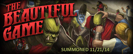 Scroller dotd summons beautiful game