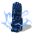 Lightning totem blue