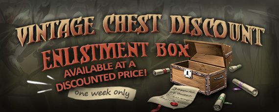 Scroller dotd chest 110714 vintage enlistment