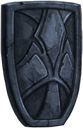 Shield tombstone