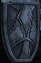 Shield tombstone