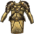 Chest hauberk gleaming gold