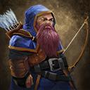 Iirhinian dwarf archer