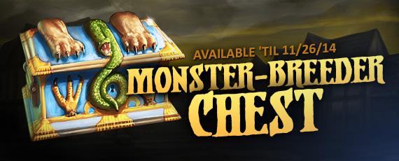 Scroller dotd chest monster breeder