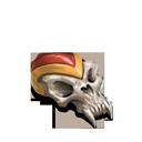 Skull pauldron