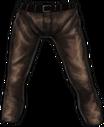 Pants leather f v2