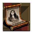 Rohesia scroll orange