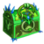 Crystal dawn chest green blue
