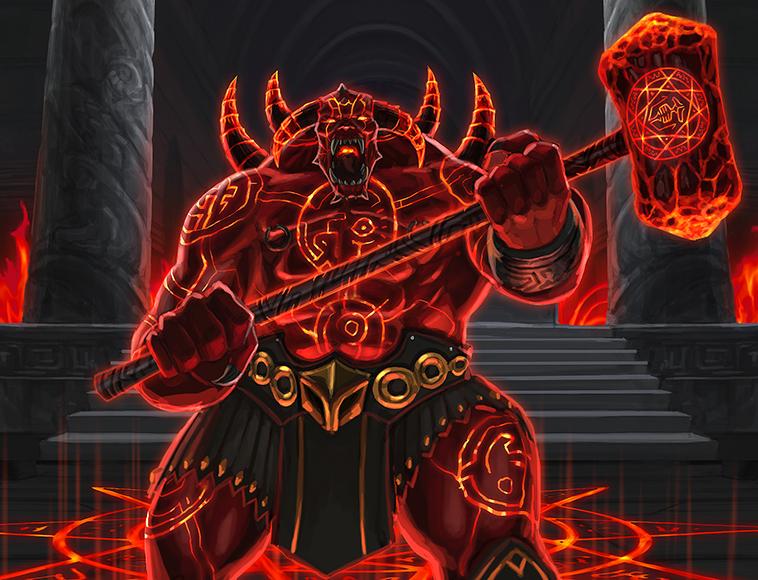 Brimstone Baron (Campaign Raid) | Dawn of the Dragons Wiki | FANDOM