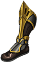 Dwarven warrior boots f